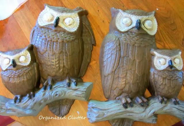 1977 Owl Plaques