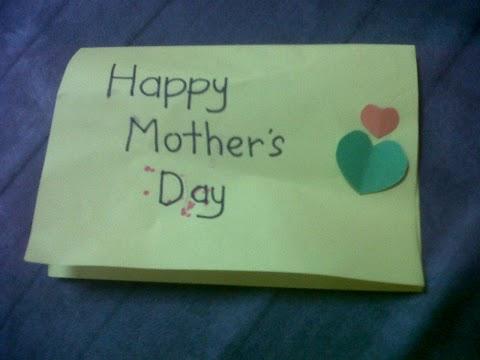 Dapat Kad Hari Ibu