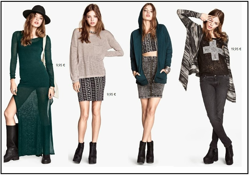 lookbook h&M 2013