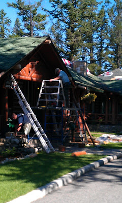 Sitka Log Homes renovation cabins