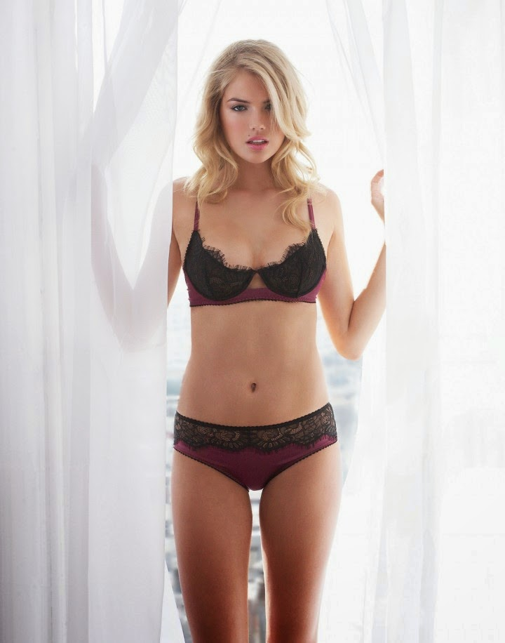 Kate Upton – 2014 Jenna Leigh lingerie