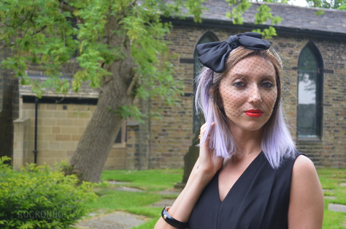 Wear Black to A Wedding - ASOS headband