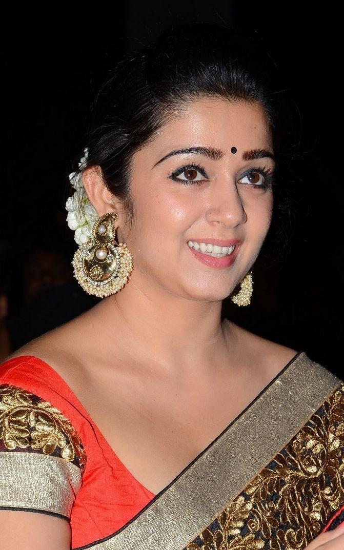 Charmi earrings Jyotilaxmi audio function Costume Pics