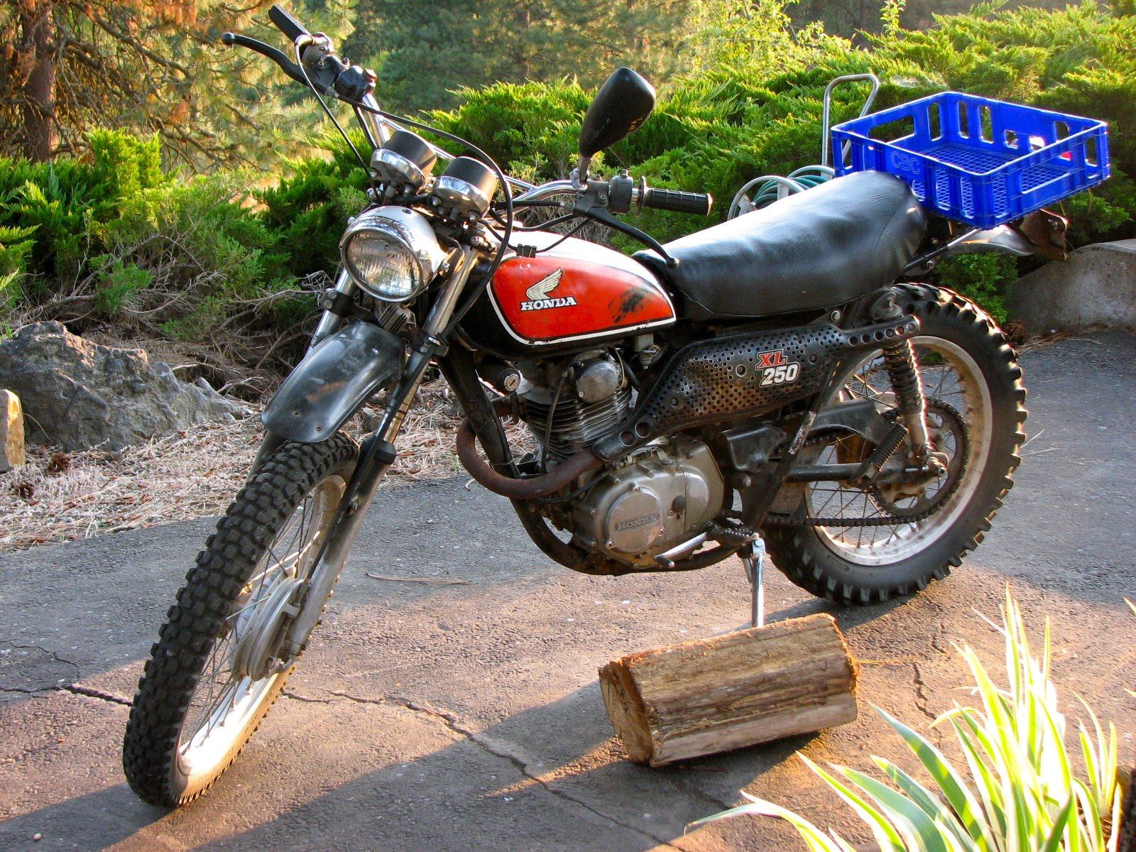 1975 Honda XL250