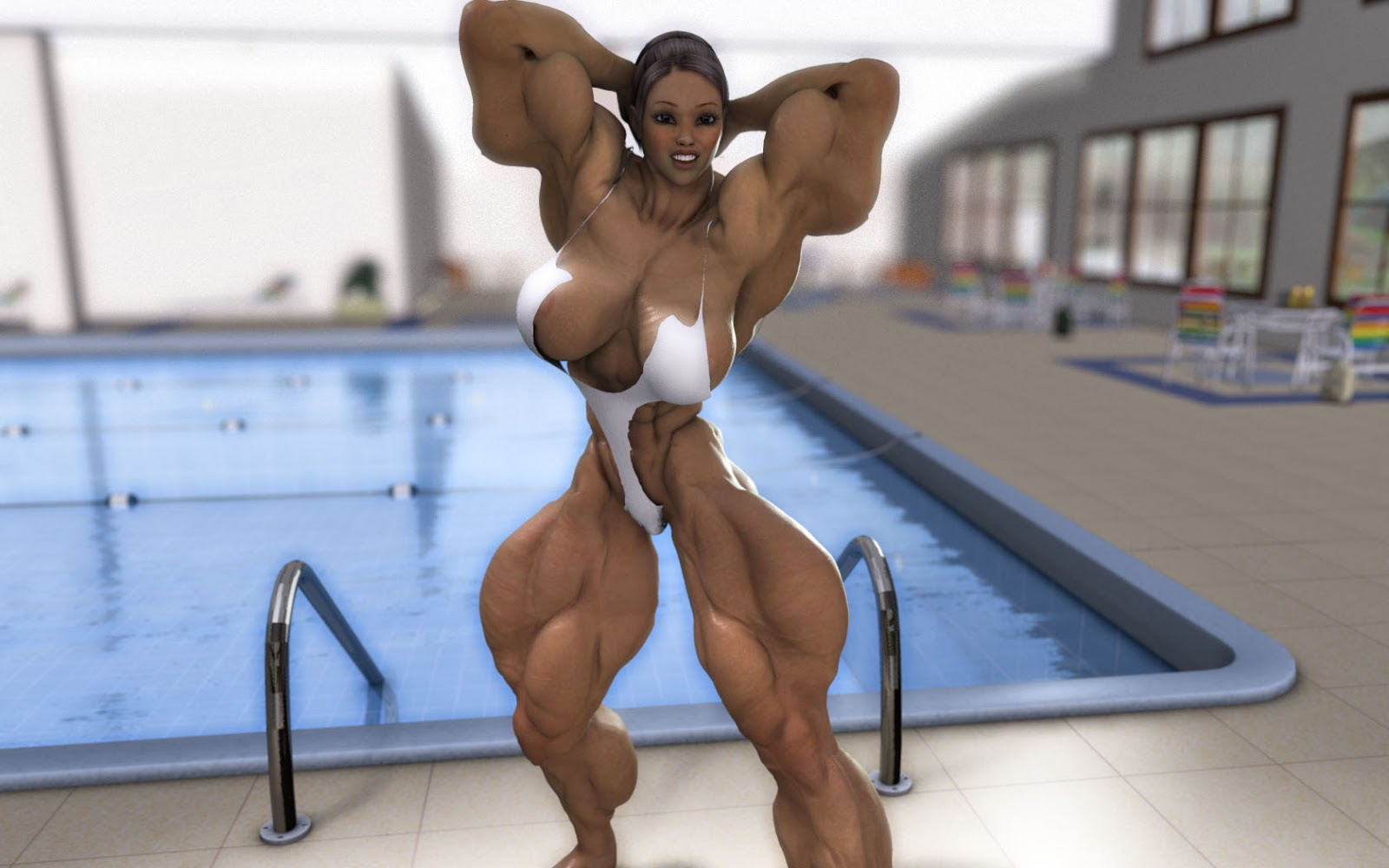 3d muscle girls xxx sexy download