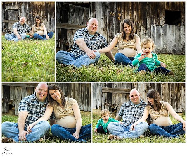 Liberty University Equestrian Center Maternity Family Sesssion