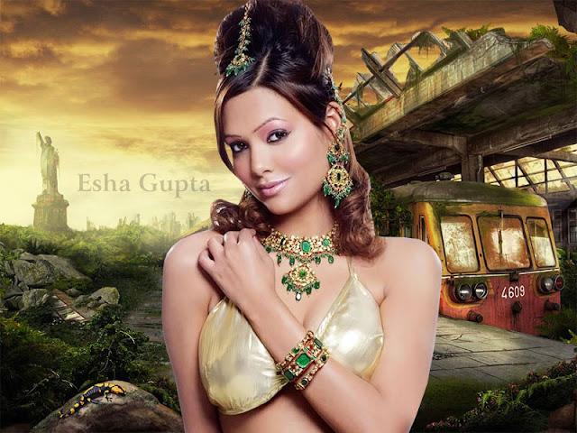 Esha Gupta HD Wallpaper
