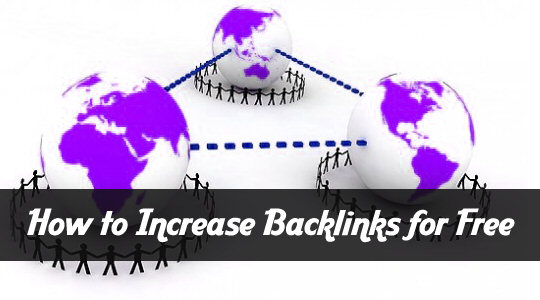 How To Increase Backlinks For Free