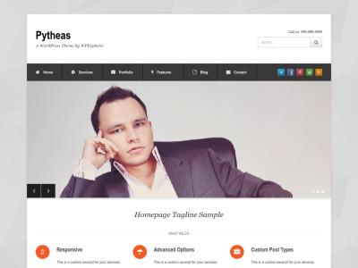 Pytheas Corporate WP Theme