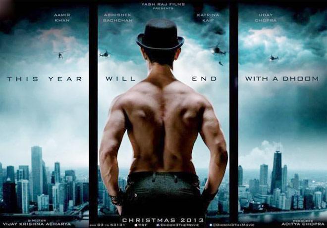 Aamir Khan Dhoom3 Poster