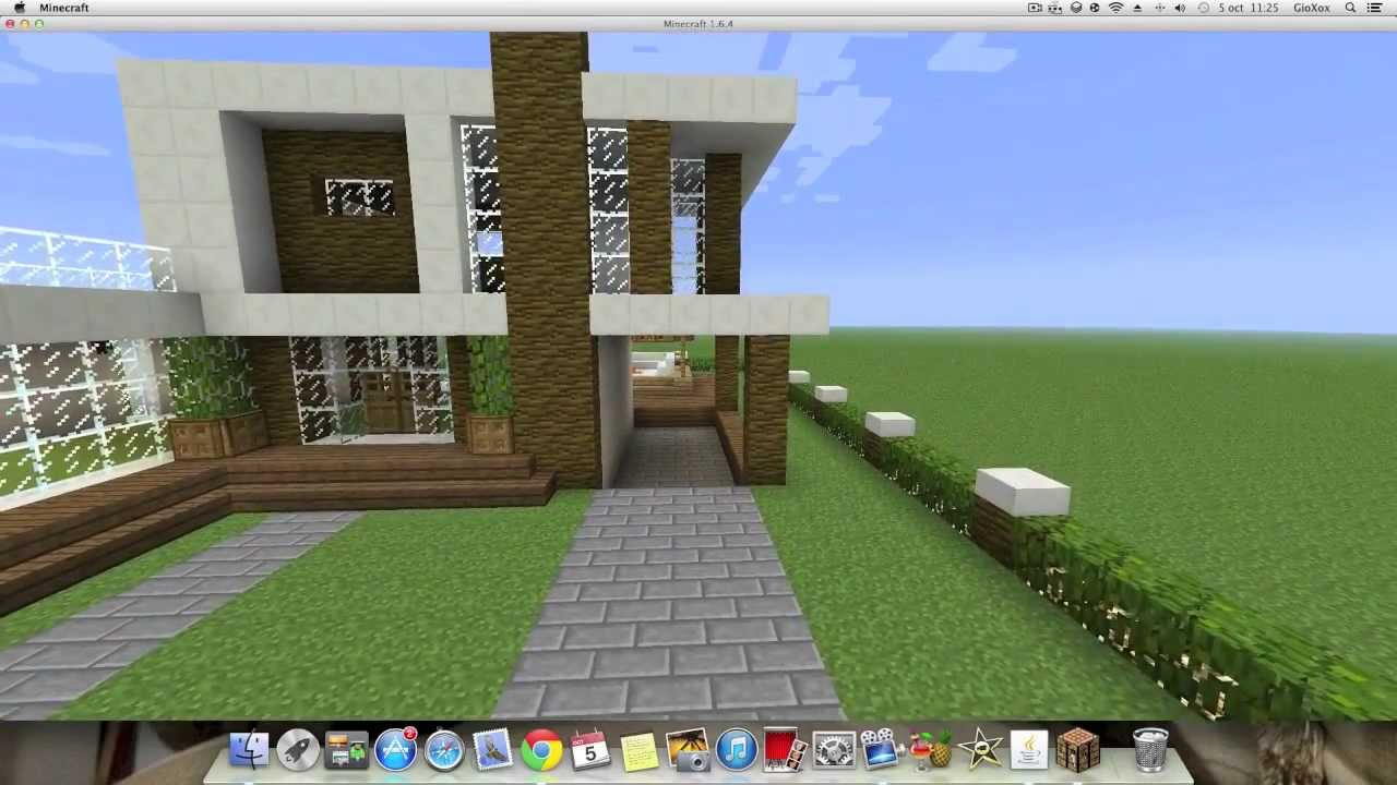 Cosas de minecraft introducci n casas lujosas for Minecraft videos casas