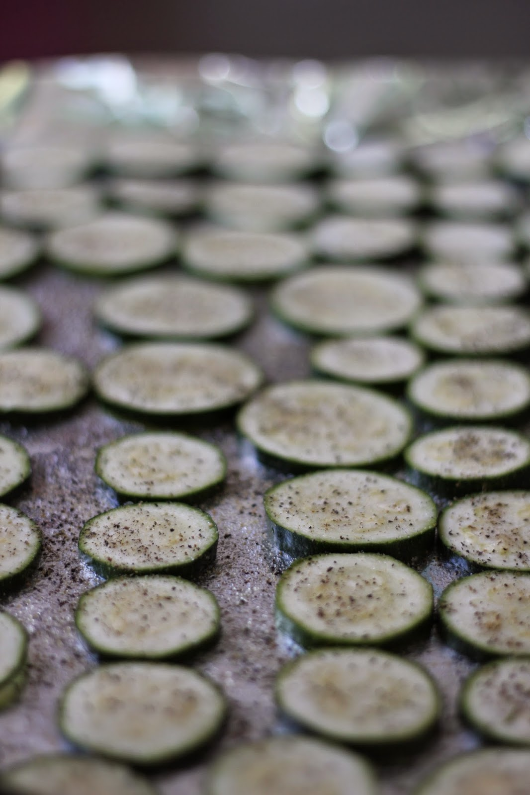 how to cook zucchini in oven in foil