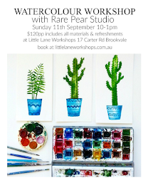 LINK HERE TO GET TICKETS TO MY WATERCOLOUR WORKSHOP IN SYDNEY
