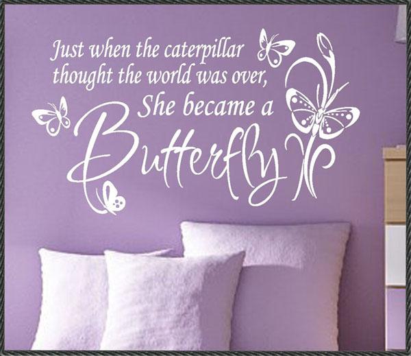 Walls That Talk: Butterflies in Spring!