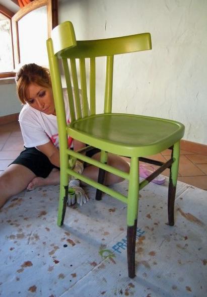 Scundy Scrap And Handmade Home Decor Le Sedie Della Nonna