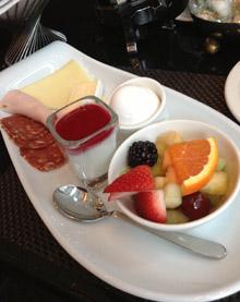 Hotel Sofitel de Montreal, Canadá, Desayuno continental