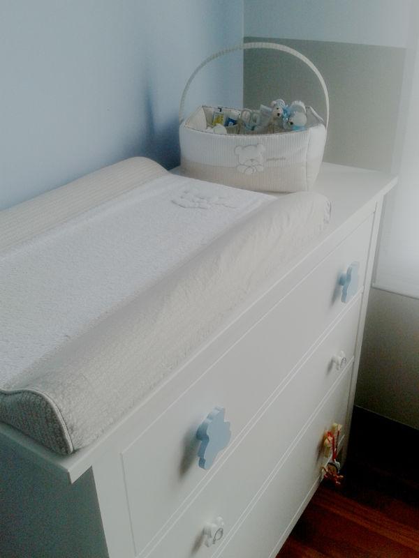 El cambiador del beb un poco de tuning mummy and cute - Como hacer un cambiador para bebes ...