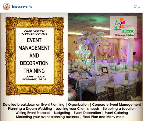 How To Become An Event Planner In Nigeria Events Nigeria