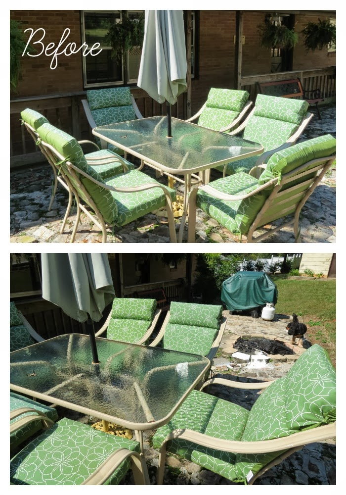 Patio Furniture Leaking Rust