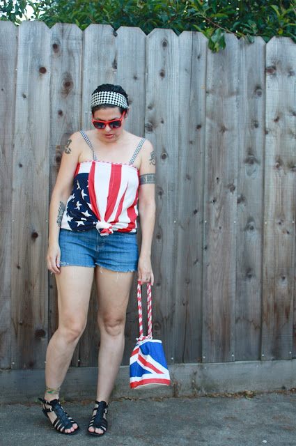outfit post: Fourth of July