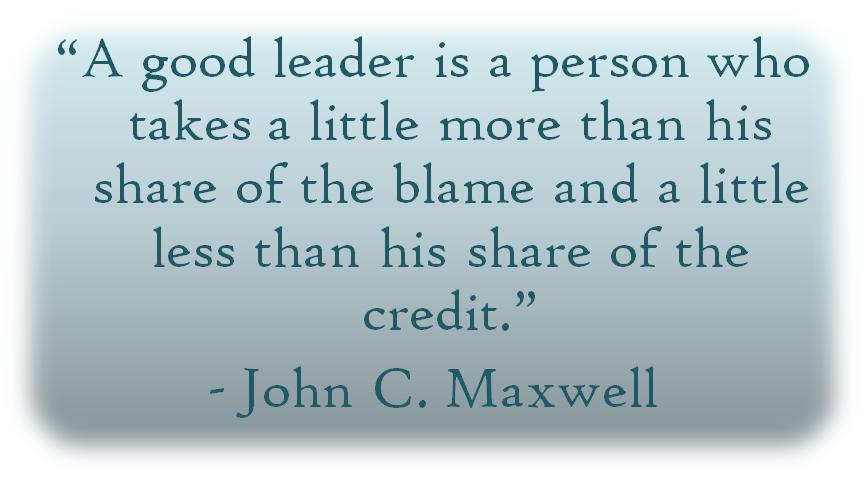 Definition of a Good Leader