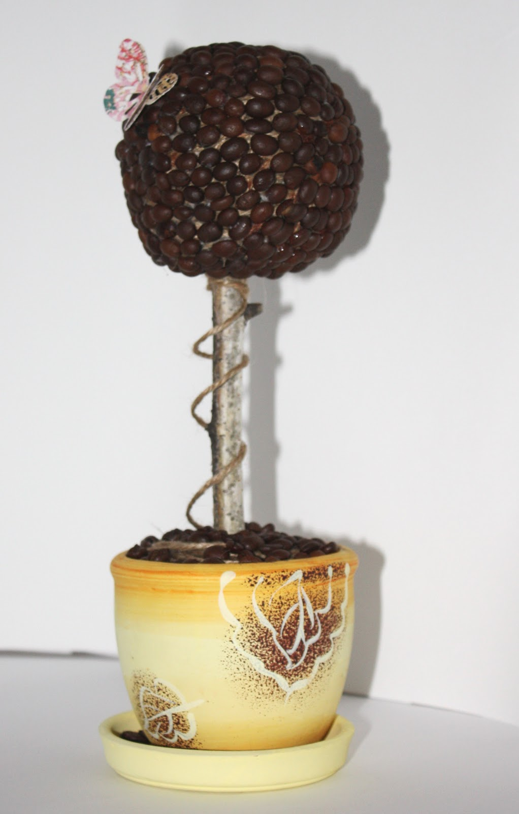 Как сделать кофейное дерево для начинающих