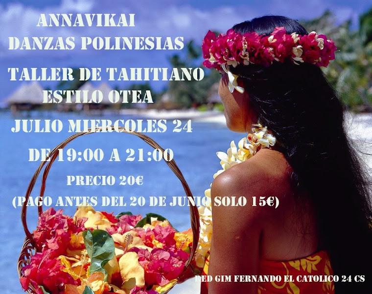 tahitiano julio