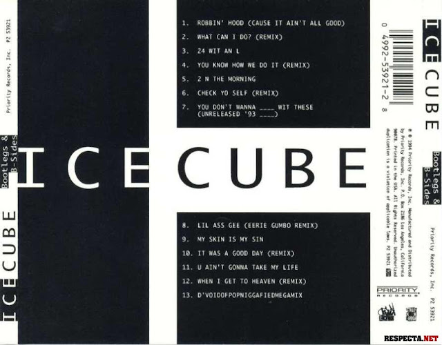 Ice Side Ice Cube's Bootlegs B-sides