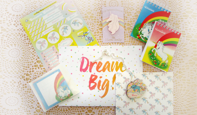 Lucky Dip Club, surprise box, handmade stationary