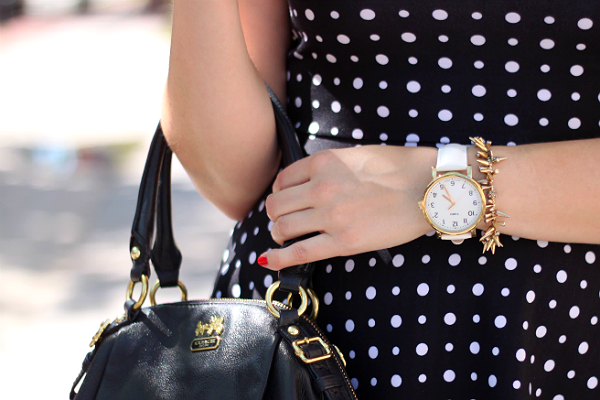White Timex Modern Originals Grande Watch