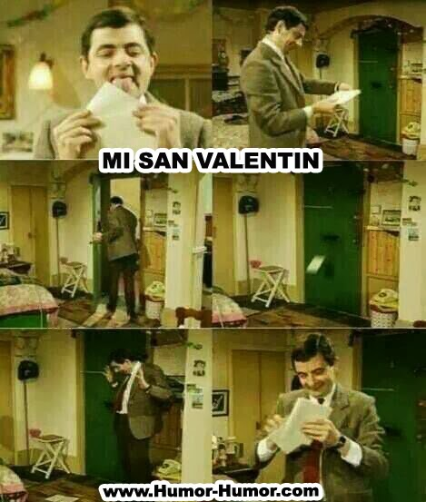 Humor de San Valentin Mr Bean