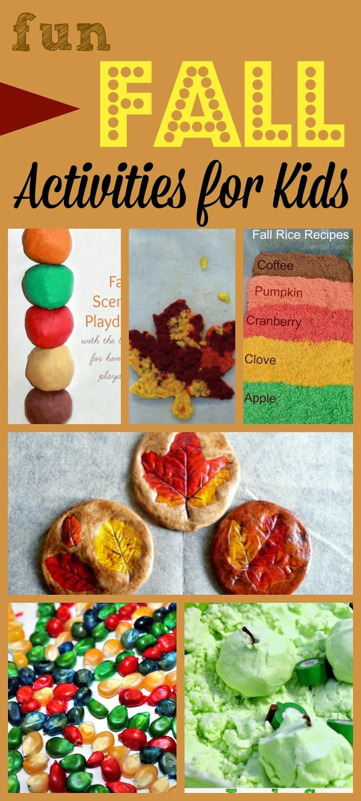 Fun Fall Activities for Kids #fall #kidsactivities #preschool