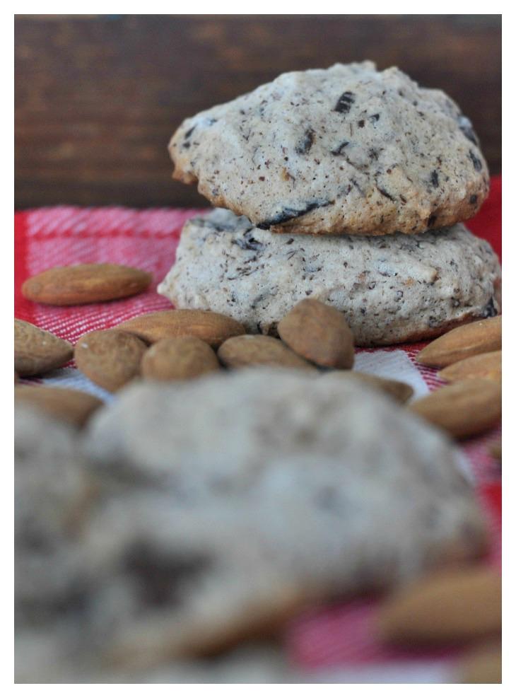 gluten free chocolate almond cookies, German christmas cookies