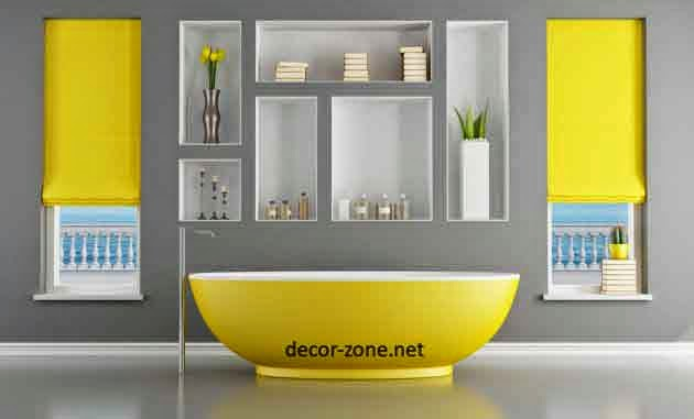 Popular paint colors 2017 grasscloth wallpaper for Bathroom yellow paint