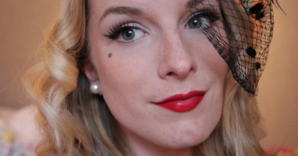 Pin Up Make Up   shivsblog   Beauty, Fashion, Lifestyle Blog