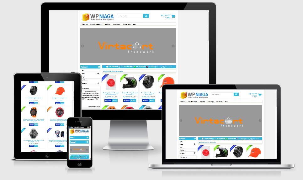 Download Template Toko Online Wp-Niaga Terbaru Gratis