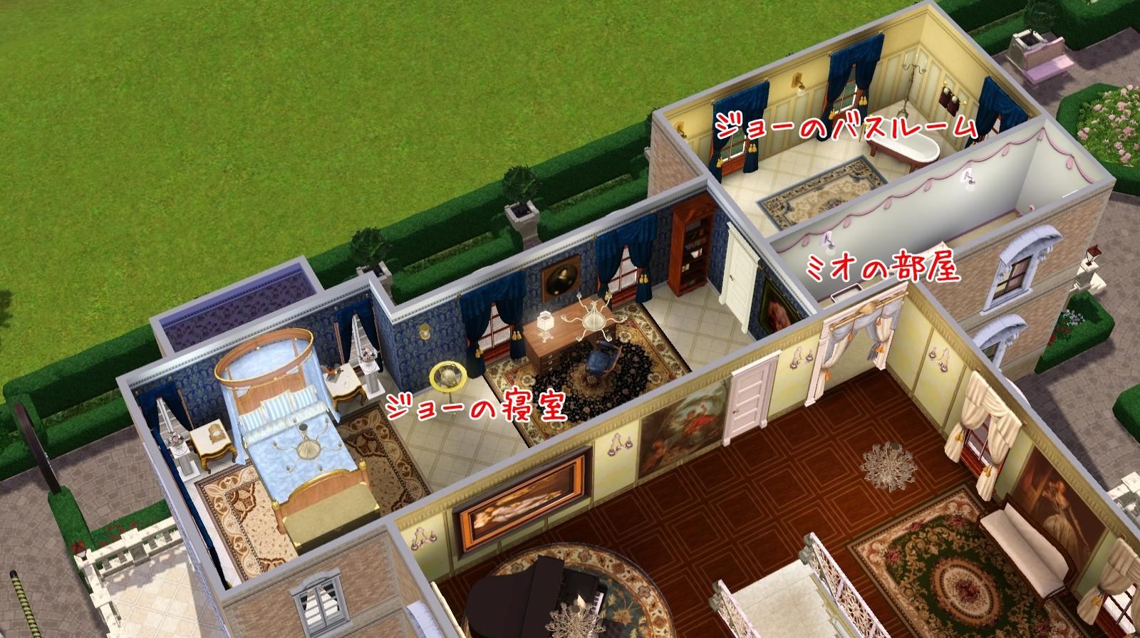 2階東側見取り図