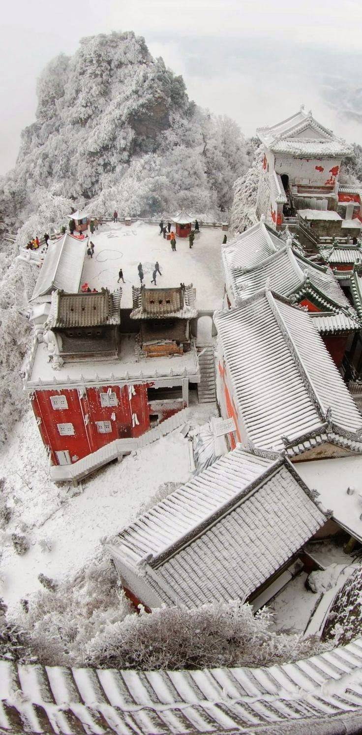 Building Complex at Wudang Mountains