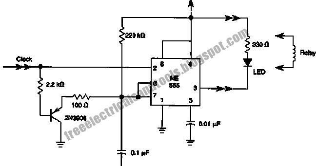 wiring schematic diagram guide  missing pulse detector circuit using 555 ic