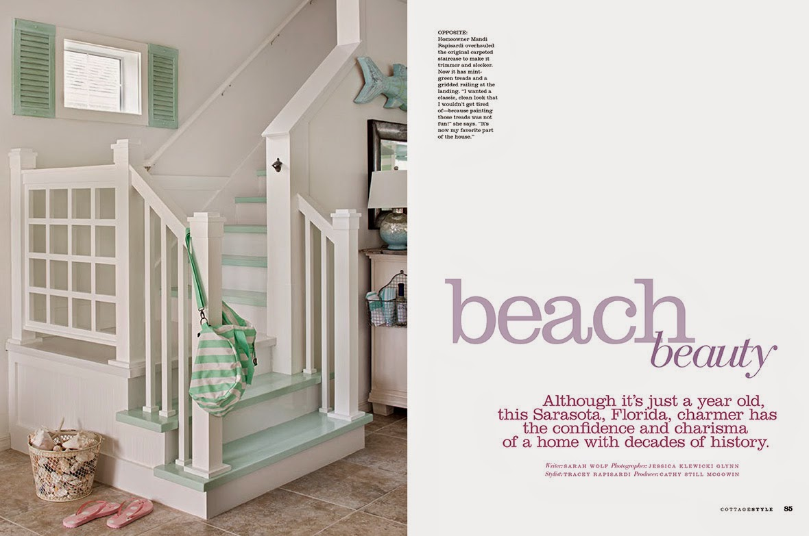 Jessica Glynn Cottage Style Magazine Fall 2014 Issue