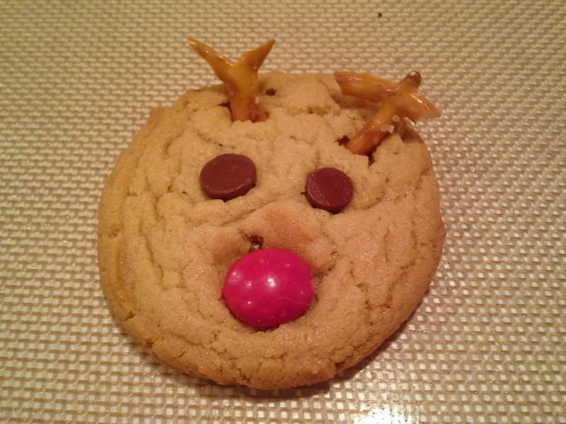 Clever Crafty Cookin Mama Reindeer Cookies