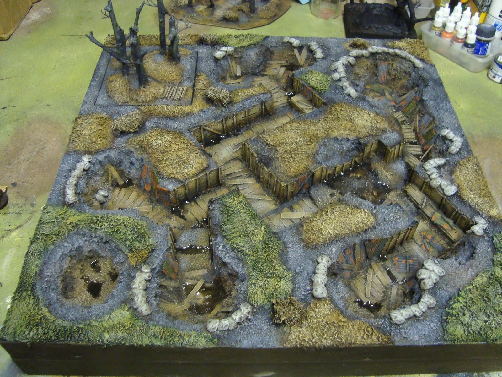 St Andrews Wargaming Wargames Trenches