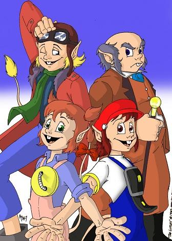 LA FAMILIA MEIQUE  DibujosdeTV