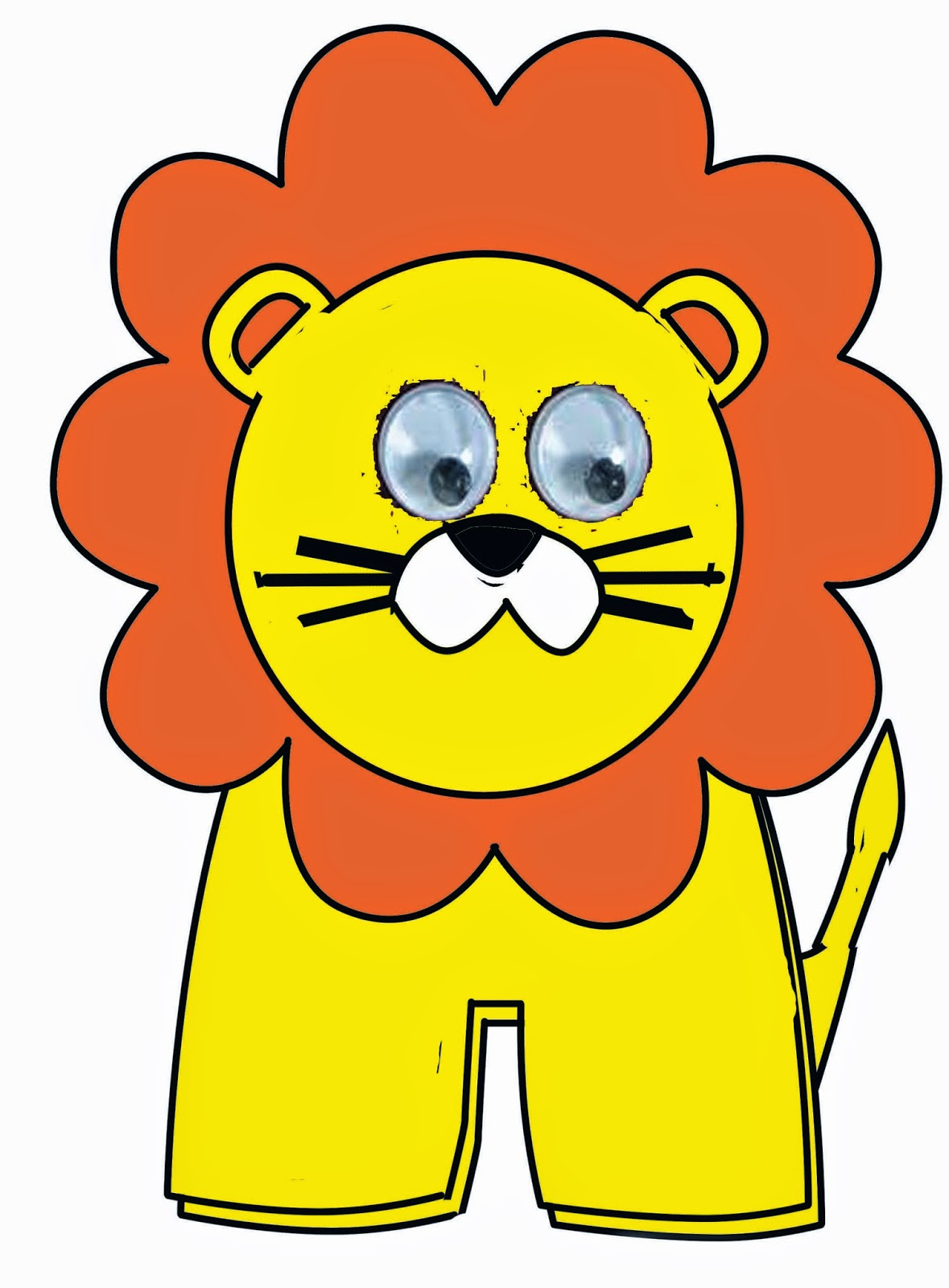 LION FINGER PUPPET- NO SEW (WITH TEMPLATE) | DIY Craft with Neetu Sharma