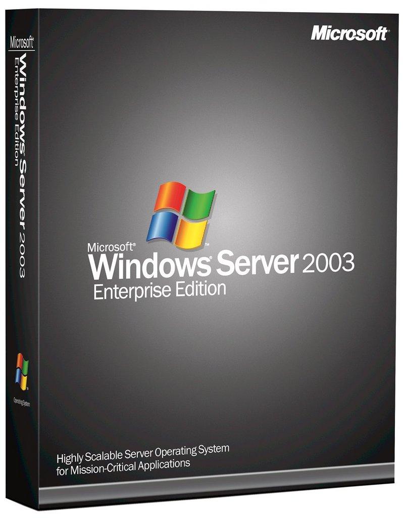 windows 2003 server r2 version