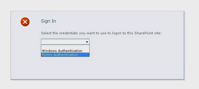FBA Login Screen SharePoint