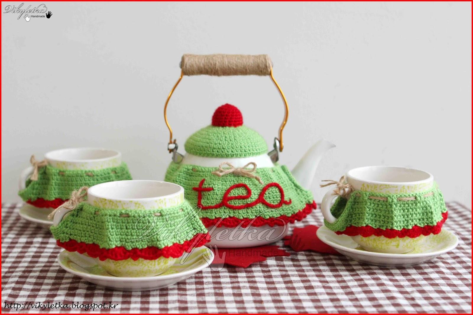 Чайный сервиз амигуруми crochet Pinterest Амигуруми 9