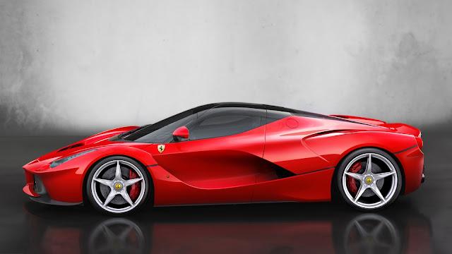 Ferrari Red Supercar