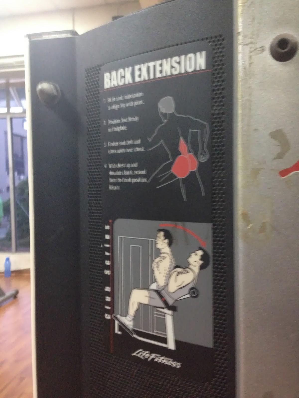 Nadi chintaku hari ini di gym rakyat