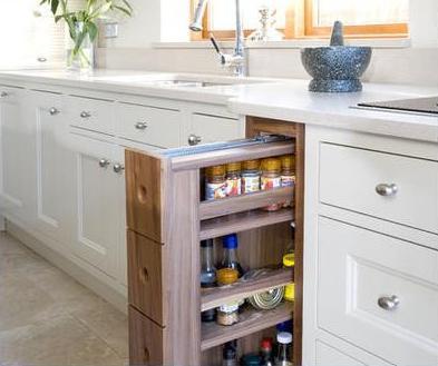 Dise os de cocinas cocinas integrales de madera - Cajoneras de cocina ...